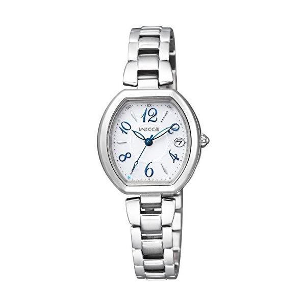 [シチズン]CITIZEN 腕時計 wicca ウィッカ ソーラーテック電波時計 ハッピーダイアリー KL0-715-11 レディース