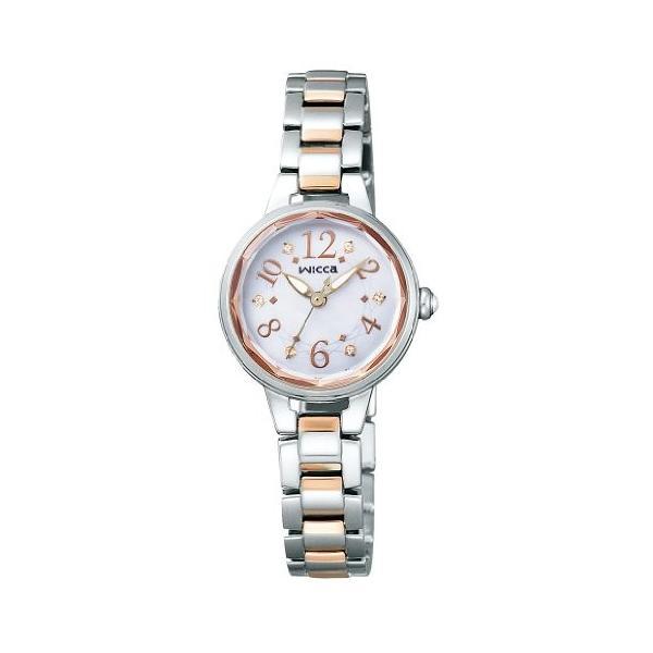 [シチズン]CITIZEN 腕時計 wicca ウィッカ ソーラーテック プレミアム / ティアラ KH8-519-93 レディース
