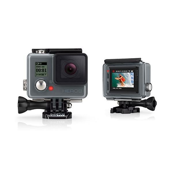【国内正規品】 GoPro ウェアラブルカメラ HERO+LCD (タッチディスプレイ搭載) CHDHB-101-JP