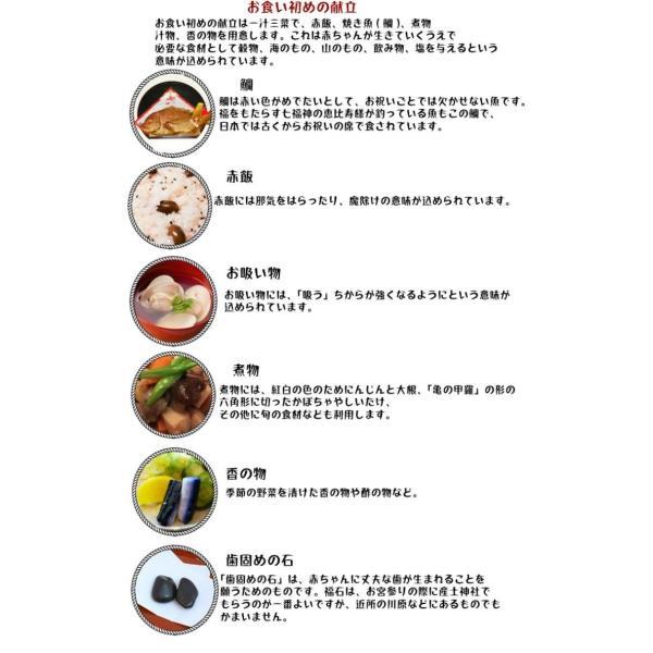 女の子 お食い初め 赤ちゃん 祝い膳食器セット 百日膳松竹梅(黒色)ギフト プレゼント oldnew 04