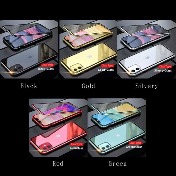 iPhone11 ケース iPhone 11pro promax SE2 ケース 韓国 両面ガラス ケース カバー アイフォン11 おしゃれ スマホケース おすすめ|ole2014|02