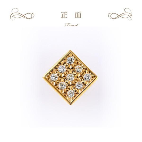 【21%OFF】【在庫品限り】◆ラグジュアリーダイヤモンド◆ペンダントヘッド 計0.18ctUP [K18YG]|olika|02