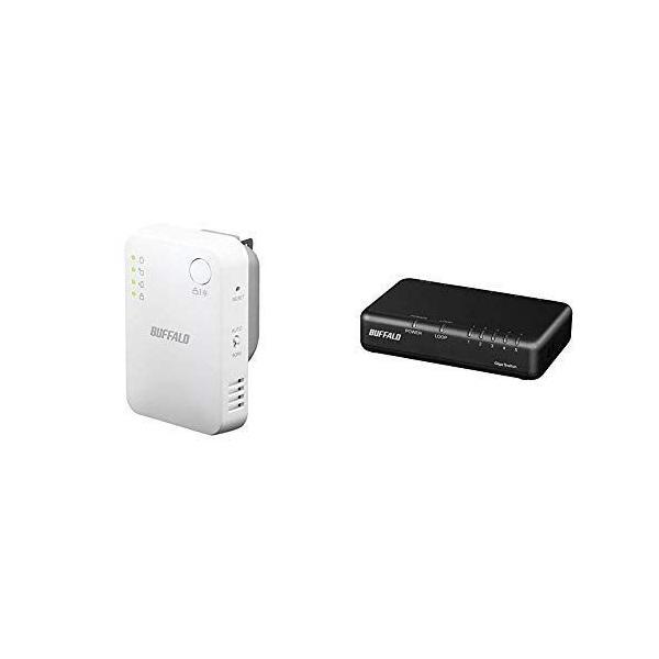 セット買い BUFFALOWiFi無線LAN中継機WEX-1166DHPS/N11ac/n/a/g/b866+300Mbpsハ