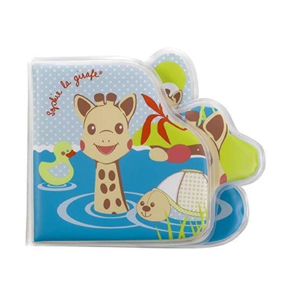 キリンのソフィー バスブック お風呂用おもちゃ 日本正規品 Vulli音のなる仕掛け付き赤ちゃん乳児0歳1歳人気清潔男の