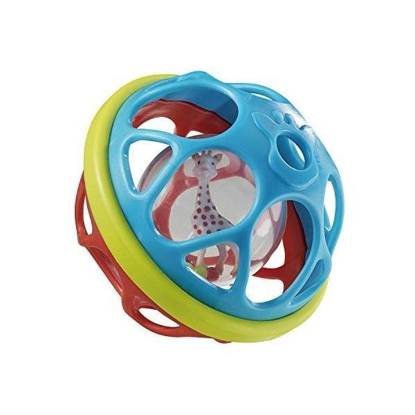 キリンのソフィー ベビー用ボール  日本正規品 Vulliソフトボールベビーボール音がでる赤ちゃん乳児0歳3ヵ月から遊べ