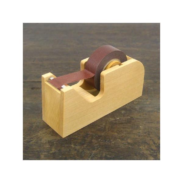 倉敷意匠計画室 木製 テープカッター おしゃれ かわいい ミニ コンパクト シンプル マスキングテープ対応