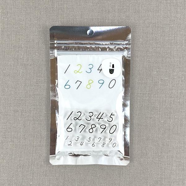 水縞 自在ハンコ ポケット ナンバー03 アクリルスタンプ クリアスタンプ 数字 はんこ かわいい おしゃれ スケジュールスタンプ 手帳 雑貨 判子 可愛い