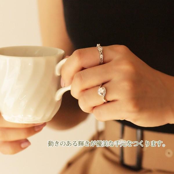 指輪 リング レディース 18金 18K ダイヤ シルバー / 一粒 豪華 / K18 刻印|olt-netshop|09