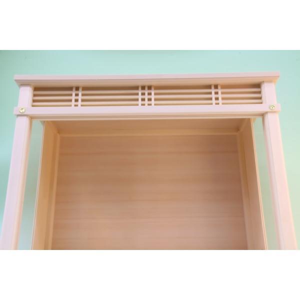 神棚 小型サイズ用 神棚ケース 壁掛け可能 神棚入れ ガラスケース 上品|omakase-factory|02