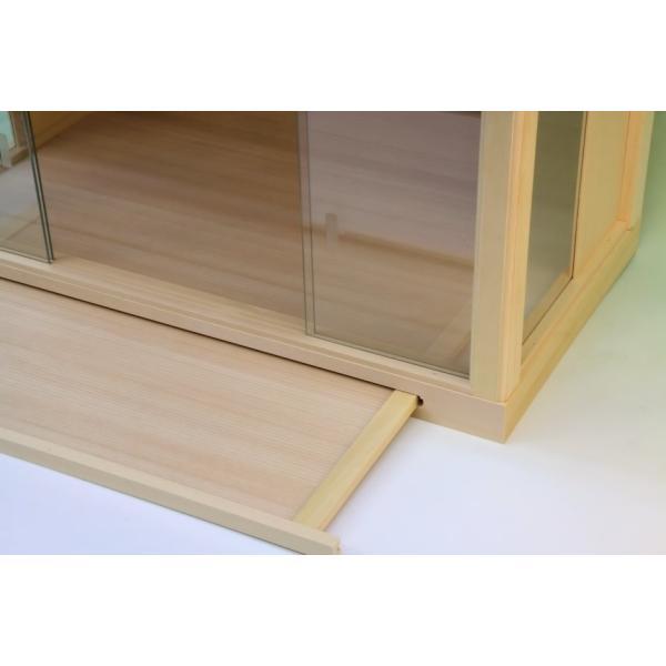 神棚 小型サイズ用 神棚ケース 壁掛け可能 神棚入れ ガラスケース 上品|omakase-factory|04