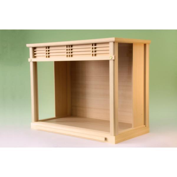 神棚 小型サイズ用 神棚ケース 壁掛け可能 神棚入れ ガラスケース おまかせ工房|omakase-factory|06