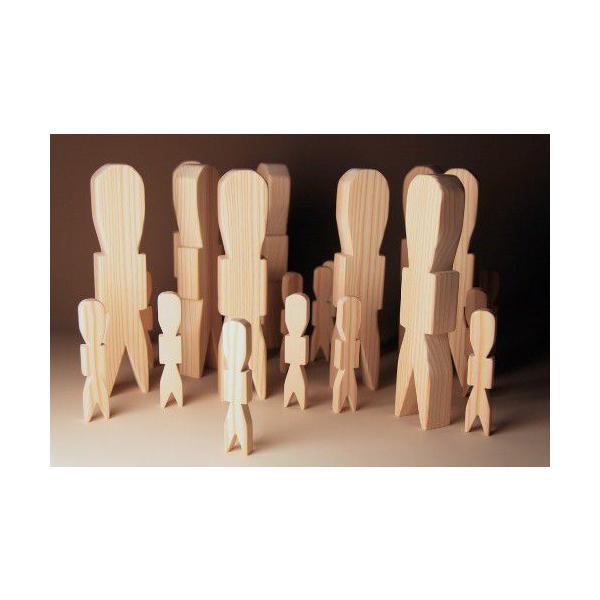 木製人形代 杉 一枚彫り 約高さ20cm厚さ2.5cm 祭祀具 大きな人形代 メール便 おまかせ工房|omakase-factory|02