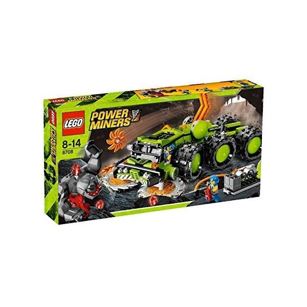 LEGO 8708 Cave Crusher(レゴ パワー・マイナーズ ケイブ・クラッシャー)|omatsurilife