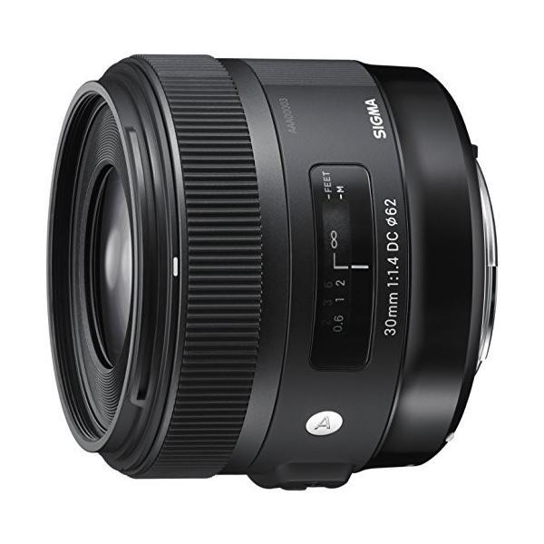 (中古品)SIGMA 単焦点レンズ Art 30mm F1.4 DC HSM キヤノン用 APS-C専用 301545|omatsurilife