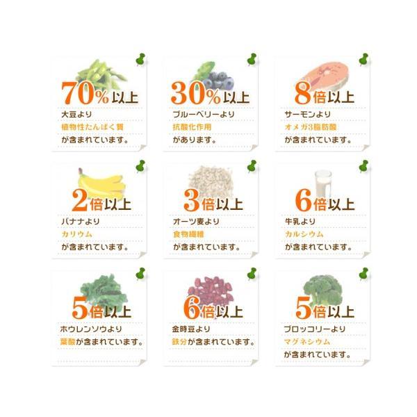 ★送料無料★【最高級チアシード】サルバチア(200g)5袋セット|omega-power|03
