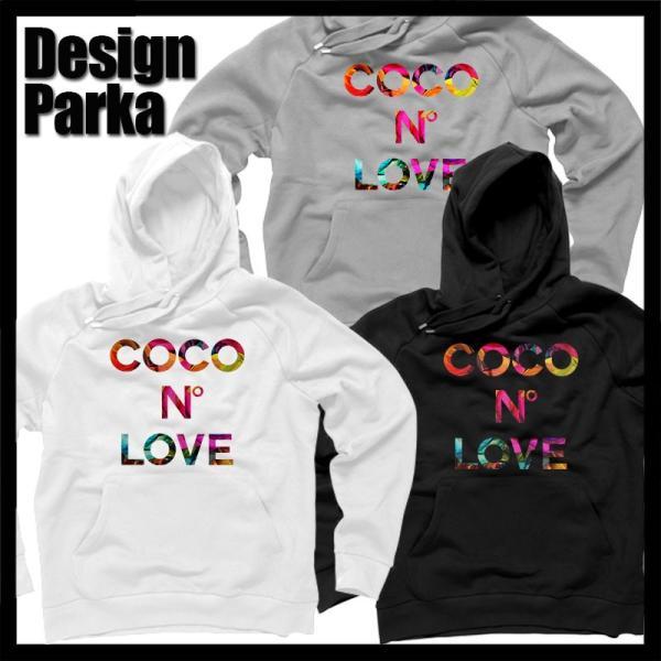 COCO N LOVE RAINBOW FLOWER LOGO パーカー スウェット ココ レインボー HOLLYWOOD パロディ 秋冬 メンズ レディース|omg-2015