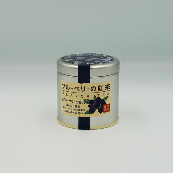 訳あり超特価長野のお土産賞味期限4月30日 ブルーベリーの紅茶缶入(信州長野のお土産飲料紅茶ブルーベリー)