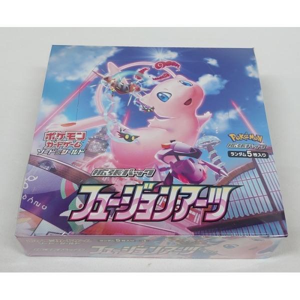 ポケモンカードゲーム ソード&シールド 拡張パック フュージョンアーツ BOX(30パック入り)