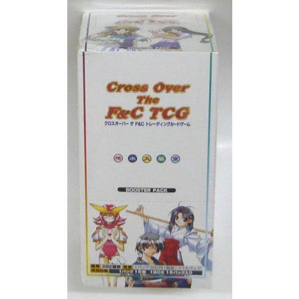 【クロスオーバー ザ F&C トレーディングカードゲーム】 ブースターパック BOX(1BOX15パック入)