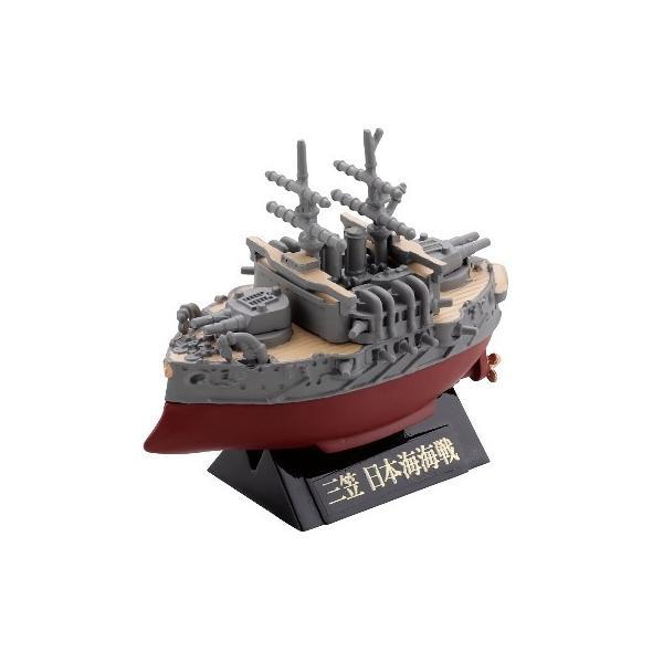 海洋堂 カプセルQ ワールドシップデフォルメ4 大和・三笠編 04.三笠 日本海海戦|omochayaya