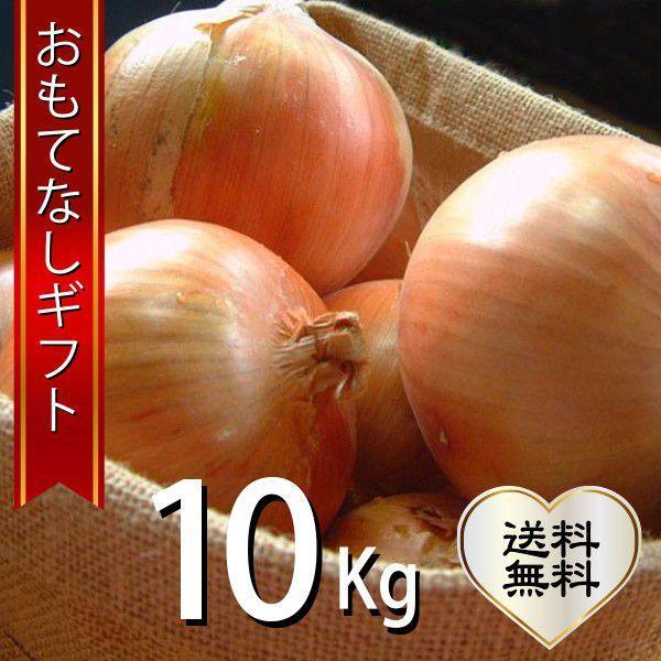 おもてなしギフト 玉ねぎ 淡路の無農薬の玉ねぎ10kg