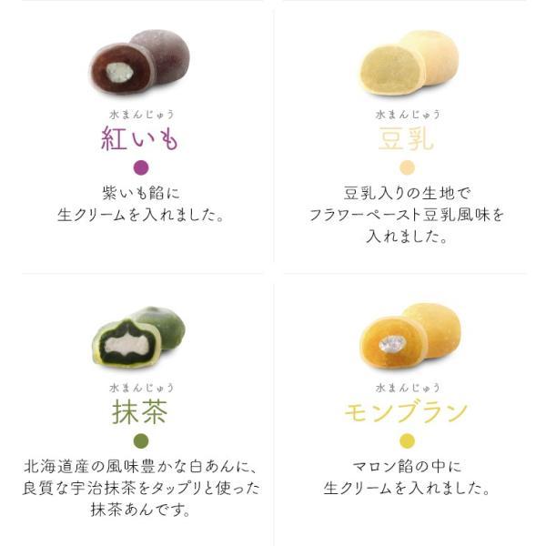クリスタル・クリア・ケーキ 40g×12種セット さささ堂 水まんじゅう omotesando-club 05