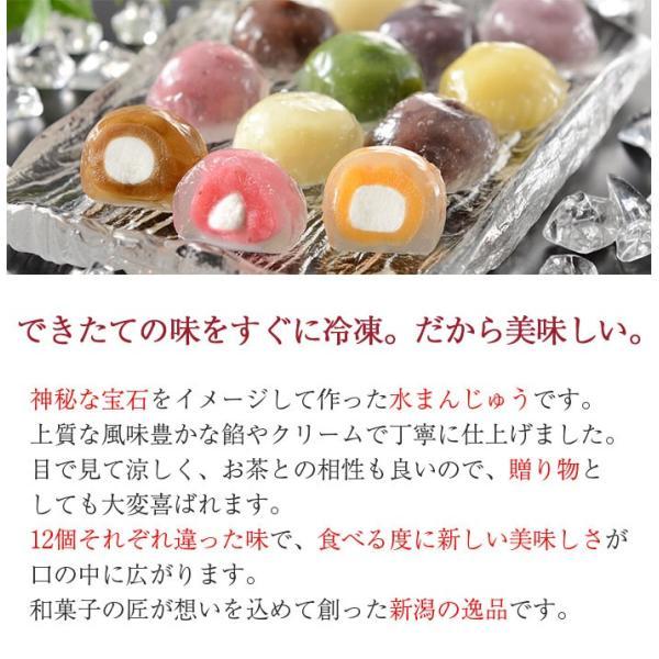 クリスタル・クリア・ケーキ 40g×12種セット さささ堂 水まんじゅう omotesando-club 06