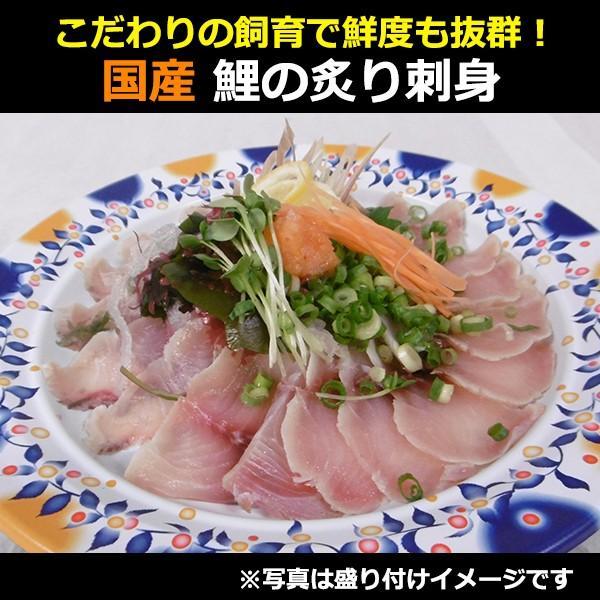 国産 鯉のあぶり刺身100g×3 コモリ食品