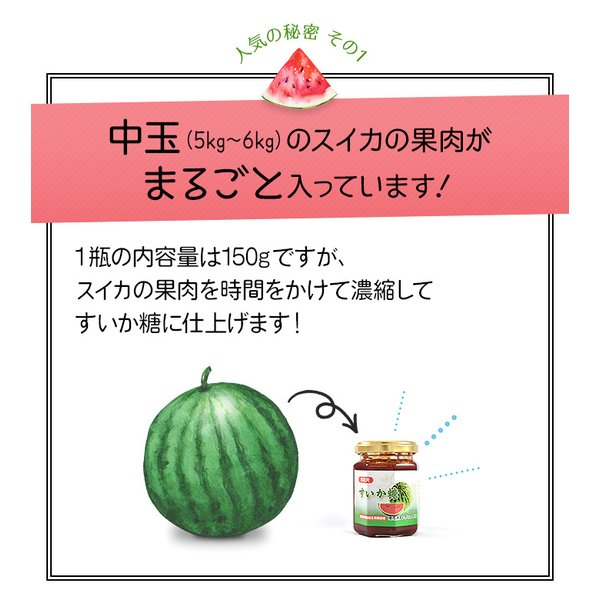 (26日9:59まで2倍)スイカ糖 尾花沢産のすいか糖 150g 3個セット お中元のし対応可|omotesando-club|04