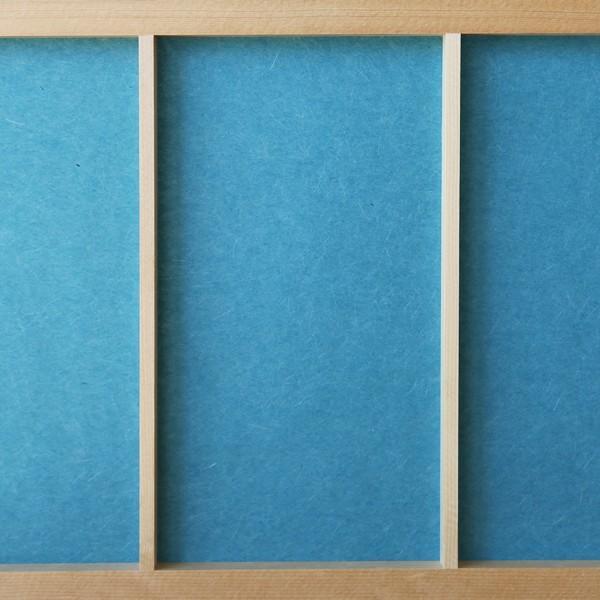 障子紙 おしゃれ インテリア障子紙 カラー和紙 あさはなだ 大直|on-washi
