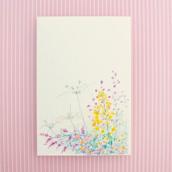 絵葉書 おしゃれ 和紙 季節の絵はがき 秋の花
