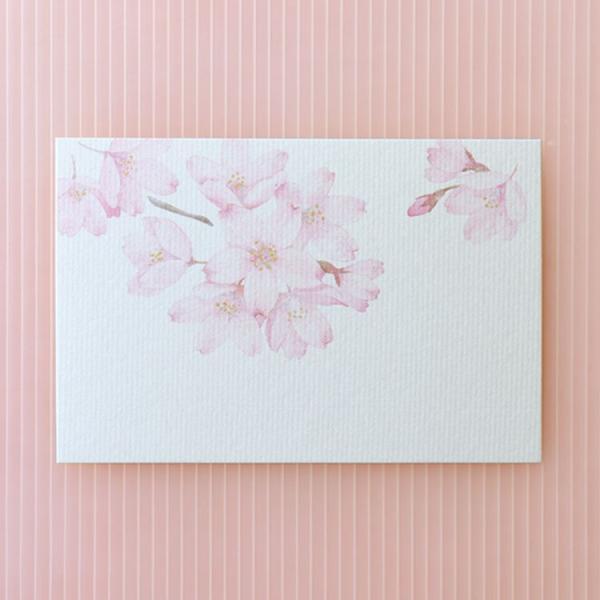 絵葉書 おしゃれ 和紙 季節の絵はがき 春 そめいよしの
