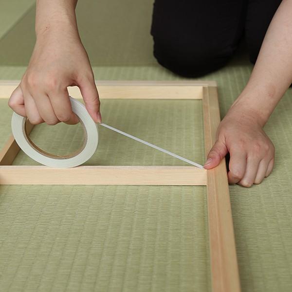 プラスチック障子紙 桜 白(2枚用) on-washi 06
