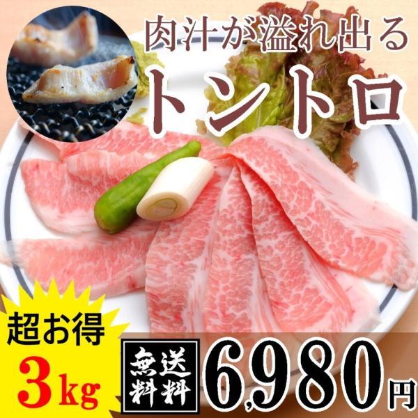 豚トロ3キロ 焼肉 大阪 特産品 ギフト 訳あり 豚肉 トントロ