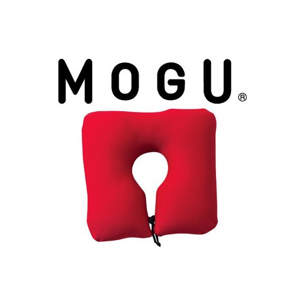 MOGU ポータブルネックピロー (CH チャコールグレー) 833006 once20200619