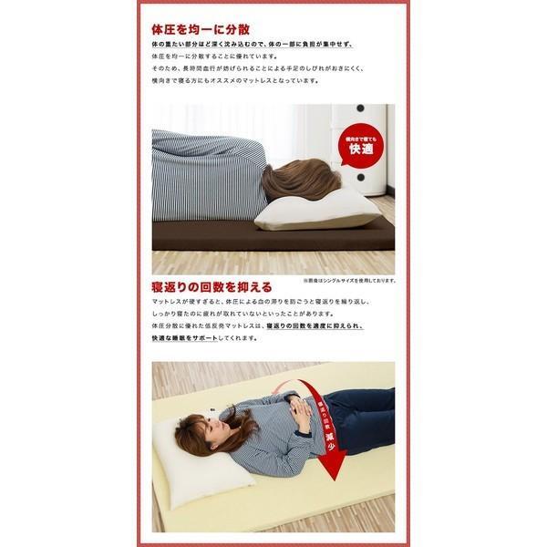 低反発マットレス シングル 低反発 マットレス 低反発マット低反発4cm 体圧分散 布団 寝具 送料無料|onedollar8|04