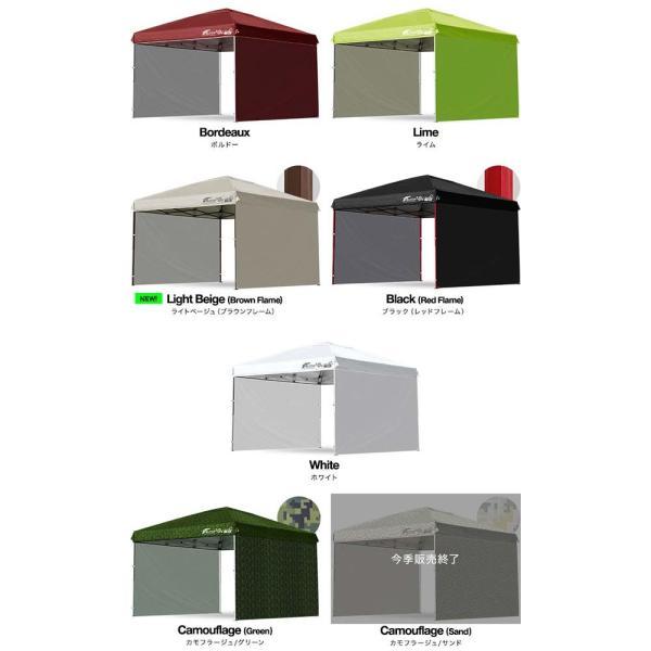 タープテント3m用サイドシート 横幕  ウォールタイプ テント ワンタッチ タープ FIELDOOR 2枚セット 送料無料|onedollar8|03