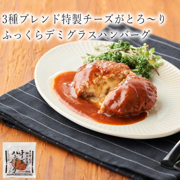 ステーキハウス三田屋 チーズハンバーグ 140g  神戸 三田屋