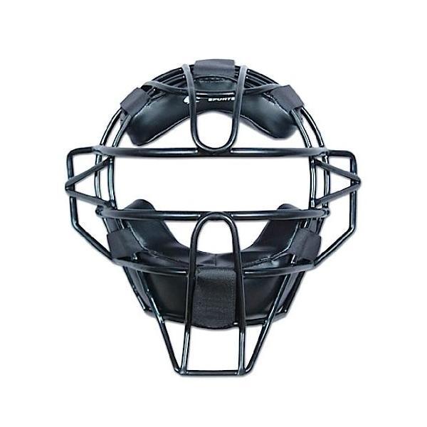 チャンプロ アンパイア マスク Champro 硬式 軟式 野球 ソフトボール 審判用 軽量 ブラック|oneofakind