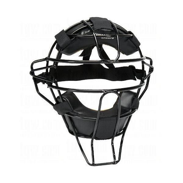 チャンプロ アンパイア マスク Champro 硬式 軟式 野球 ソフトボール 審判用 軽量 ブラック|oneofakind|02
