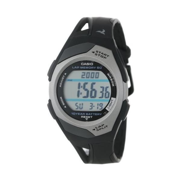 カシオ 腕時計 CASIO 腕時計 時計 PHYS フィズ ランナー ウォッチ LAP MEMORY60 STR-300C-1V ブラック シルバー|oneofakind