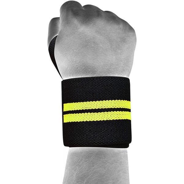 RDX ジム リストラップ トレーニング ウェイトリフティング ボディービル グリーン 格闘技 ロゴ入り|oneofakind|09