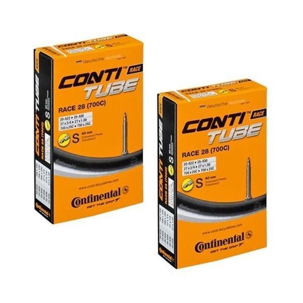 コンチネンタル Continental タイヤ チューブ 2本セット UltraSport2 ウルトラスポーツ2 700x20-25C 仏式60mm ブラック|oneofakind|02