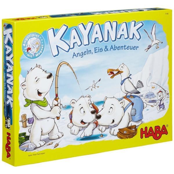 ハバ Haba ハバ社 KAYANAK カヤナック 新版 知育玩具 ボードゲーム 釣りゲーム 送料無料 プレゼント|oneofakind