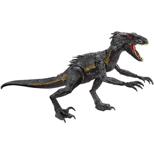 ジュラシック ワールド Jurassic World 炎の王国 ライト&サウンド アクションフィギュア グラブ アンド グロウル インドラプトル  送料無料 プレゼント oneofakind