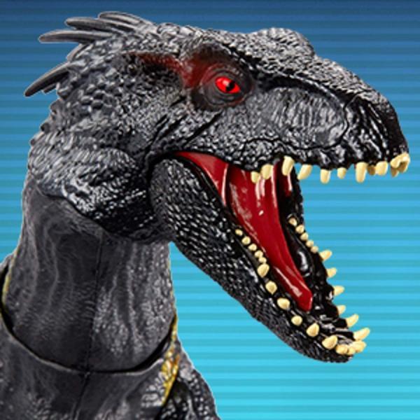 ジュラシック ワールド Jurassic World 炎の王国 ライト&サウンド アクションフィギュア グラブ アンド グロウル インドラプトル  送料無料 プレゼント oneofakind 09