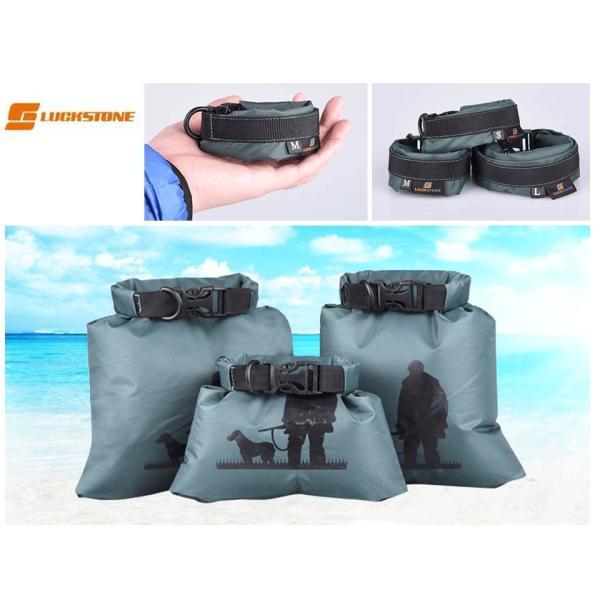 防水バッグ 軽量 折り畳み 小物入れ 3サイズセット カラー緑 コンパクト収納 携帯 サブバッグ