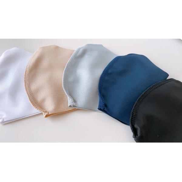 通気性と伸縮性のよい3D立体マスク 夏用洗えるマスク 日本製 UVカット(1枚) ones-concept 03