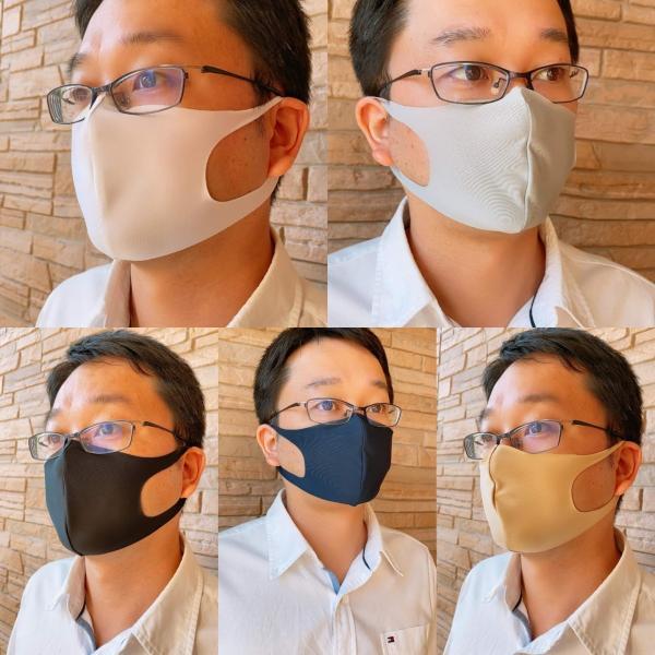 通気性と伸縮性のよい3D立体マスク 夏用洗えるマスク 日本製 UVカット(1枚) ones-concept 08