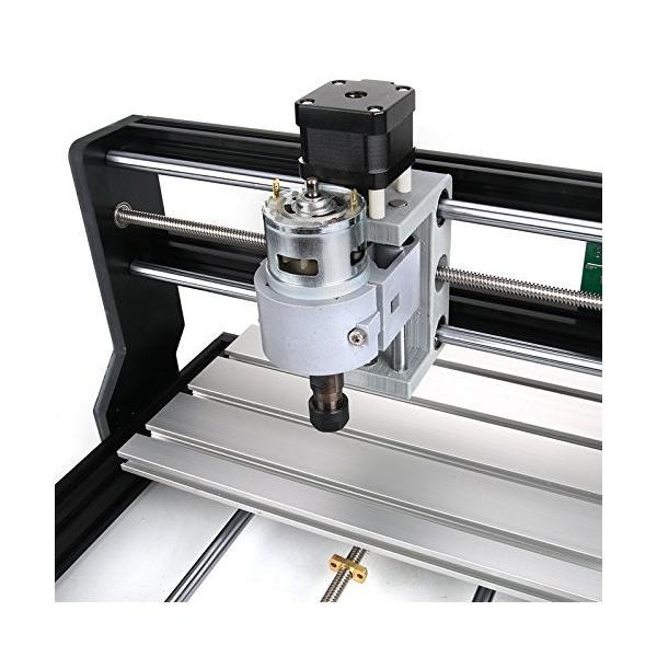 DIY CNCルータキット CNC3018-PRO ER11 と ミニフライス盤 USBデスクトップ彫刻機、木材、木工用 - DIY CNC Rout|onesbest|05